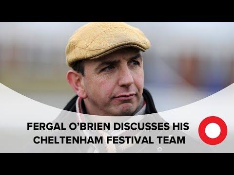 Fergal O'Brien Cheltenham Festival Stable Tour