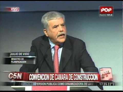 C5N - SOCIEDAD: CONVENCION DE LA  CAMARA DE CONSTRUCCION
