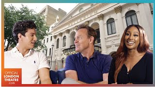 Alexandra Burke, Jason Donovan and Jac Yarrow chat Joseph And The Amazing Technicolor Dreamcoat