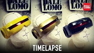 Timelapse - Making XMen Cyclops Visor | Dali DIY (for those who are too busy to watch slow video)