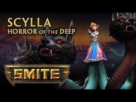 видео: smite Гайд о боге scylla(Сцилла)
