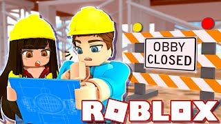 We Built and Tested Our Own Obby! (Roblox)