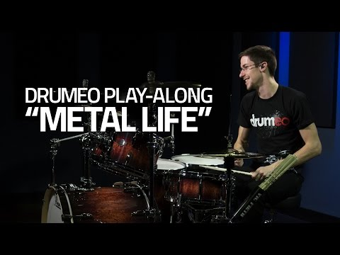 """""""Metal Life"""" - Drum Cover - Free Metal Play-Along from Drumeo"""