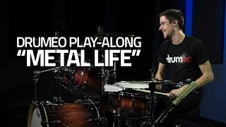 """Metal Life"" - Drum Cover - Free Metal Play-Along from Drumeo"