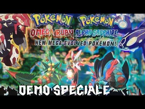 Pokémon -Rubino Omega.Alfa Zaffiro- DEMO SPECIALE 3DS (HD ITA)