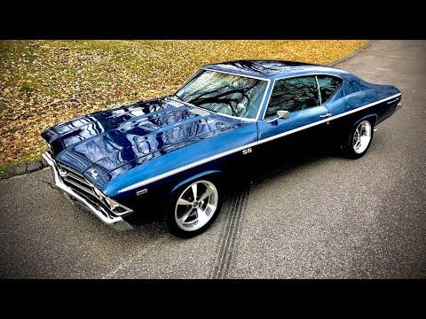 Test Drive 1969 Chevelle Big Block 454 $23,900 Maple Motors #496