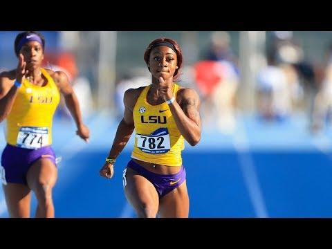Sha'Carri Richardson 10.99! Fastest Frosh Ever At NCAAs