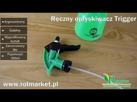 Opryskiwacz ręczny Trigger firmy Hudson 0,5 litra www.rolmarket.pl