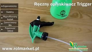 Opryskiwacz ręczny Trigger Hudson 0,5 L. Idealny do roślin domowych i balkonowych | Rolmarket.pl