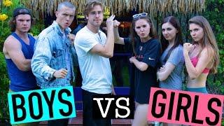 boys vs girls challenge   ninaandranda