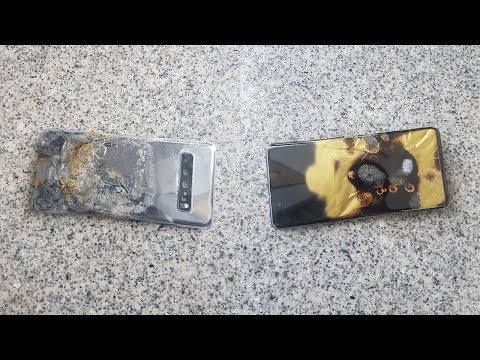 Samsung Galaxy S10 5G CATCHES FIRE Again 🔥