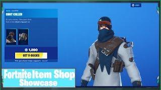 *NEW* SHOT CALLER SKIN! Today's Fortnite Item Shop Update Showcase - FNBR