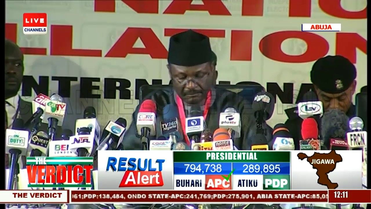 2019 Presidential Election: INEC Announces Kaduna Results