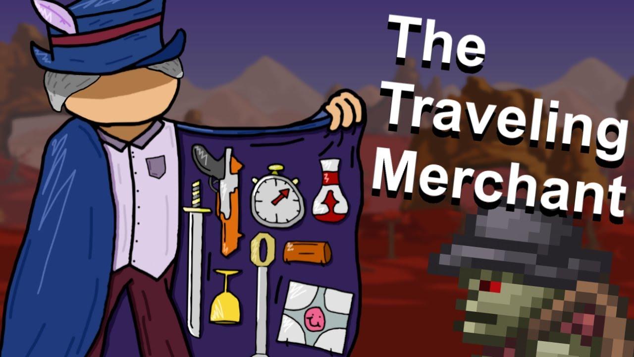 A Look at Terraria's Craziest Merchant