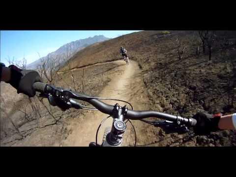 Sycamore Canyon Mountain Biking - Wood Canyon Trail - Santa Cruz and Trek