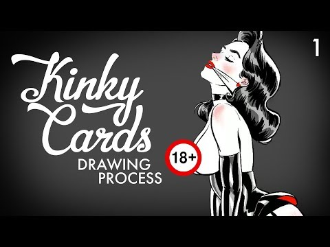 Kinky Card #1 [DRAWING PROCESS] from YouTube · Duration:  1 minutes 27 seconds