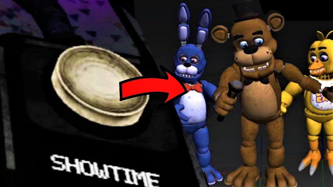 EARLY LOOK at SHOWTIME!!   FNaF VR: Help Wanted SHOWTIME