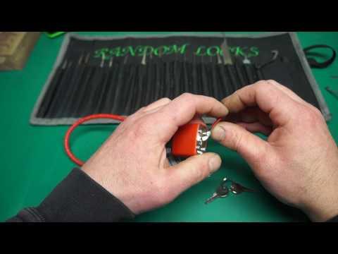 (-66-)  Gun lock Picked