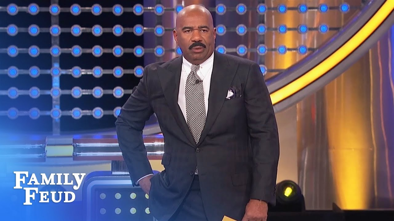 Relax Steve, this ISN'T about YOU! | Family Feud