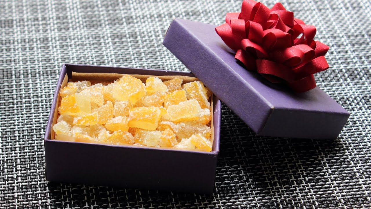 how to make candied citron