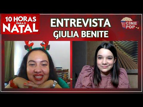 Giulia Benite revela segredos dos bastidores de 10 Horas Para o Natal