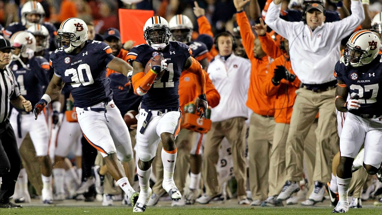 Auburn S Kick Six Flashback Youtube