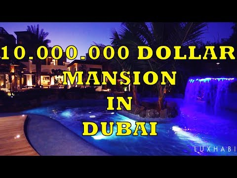 Inside a 10.000.000 Dollar Maison in DUBAI!