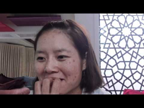 First time interview with Li Na