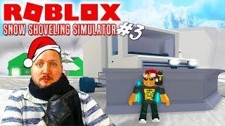 STØRSTE BIL = MANGE PENGE🤑💲💲! - Roblox Snow Shoveling Simulator Dansk Ep 3