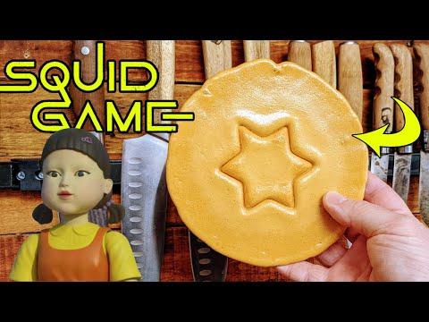 SQUID GAME Dalgona Kekse selber machen (nur 2 Zutaten)