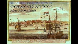 Sid Meier's Civ IV: Colonization: New Netherlands - Mejorando el Comercio - #4