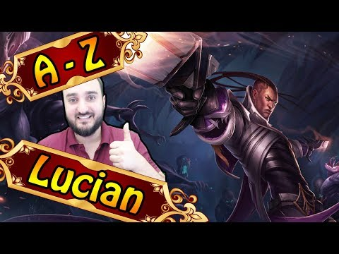 A-Z LUCIAN ADC, der Allround ADC | League of Legends thumbnail