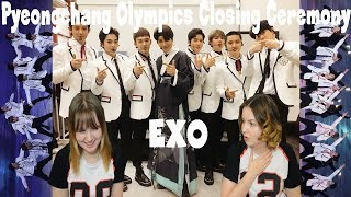 Download Video 180225 EXO Growl + Power [Pyeongchang Olympics Closing Ceremony] Reaction MP3 3GP MP4