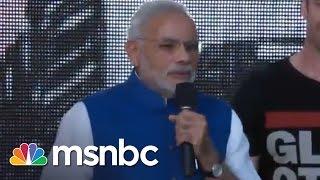 Prime Minister Narendra Modi | Global Citizen Festival 2014 | msnbc