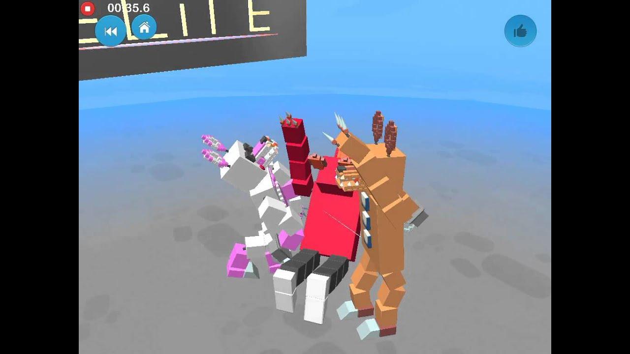 Blocksworld hd phantom foxy kills foxy then kills mangle but then
