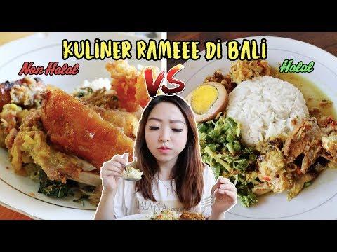 ngeces!!-kuliner-bali-yang-bikin-ketagihan!!-(non-halal-vs-halal)-#jennieinbali