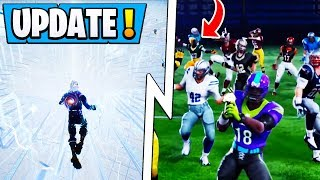 "*NEW* Fortnite 6.22 Update! | Secret NFL Leak, Cube Event Solved, ""In-Between""!"