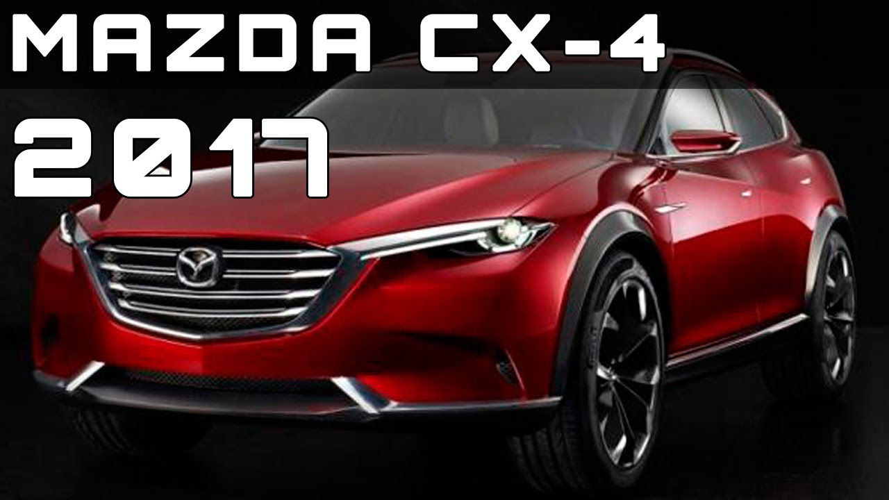 2017 mazda cx-4 review rendered price specs release date - youtube