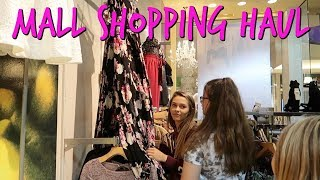 SHOPPING FOR PLAYLIST AT THE MALL! WHAT DID WE GET HAUL 2018!