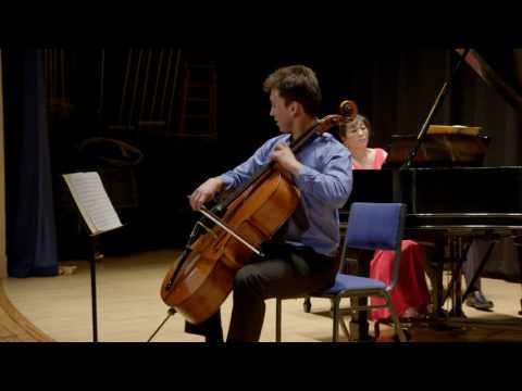 Cellist Jonah Ellsworth | Rachmaninoff Cello Sonata . Opus 19 . Movt. 4