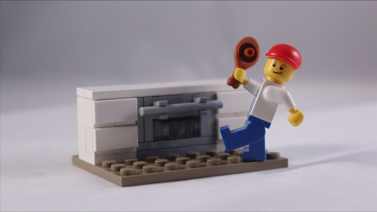 Lego Tutorial How To Build An Oven Youtube