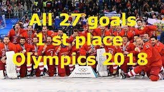 Все 27 гола сборной России по хоккею на Олимпийский Играх 2018