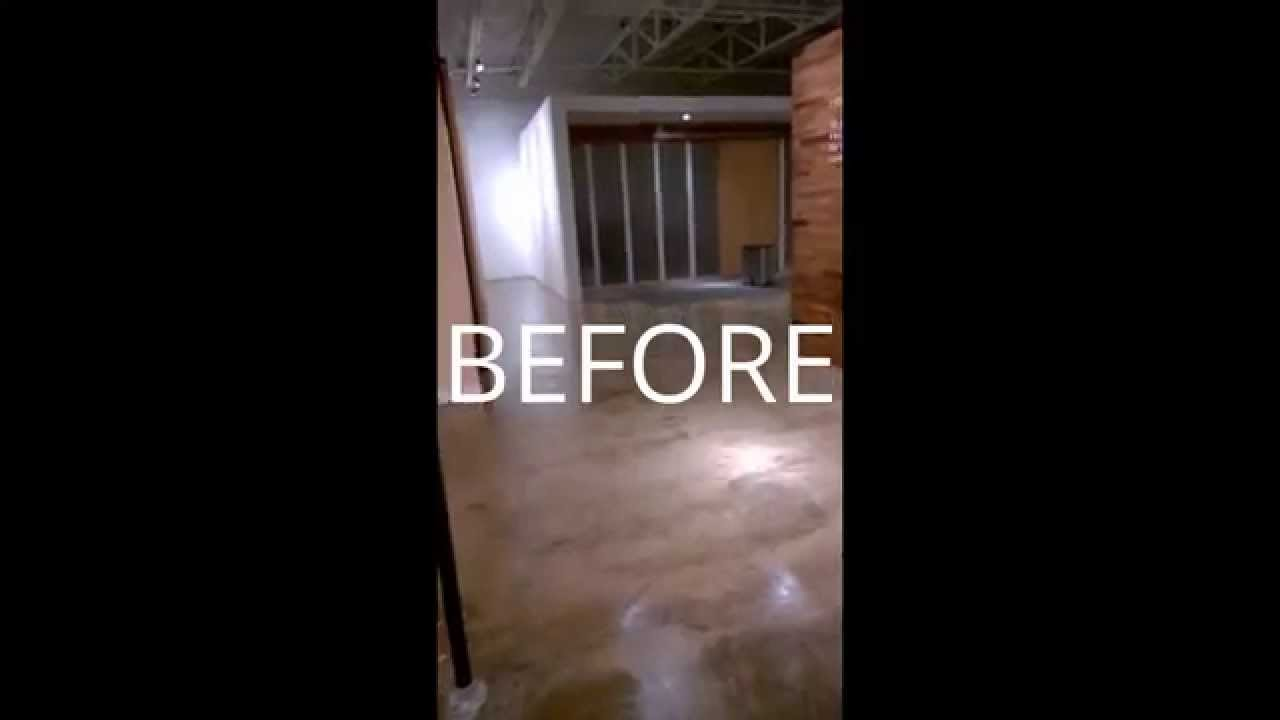 Removing old sealer and paint from concrete floor youtube removing old sealer and paint from concrete floor dailygadgetfo Choice Image