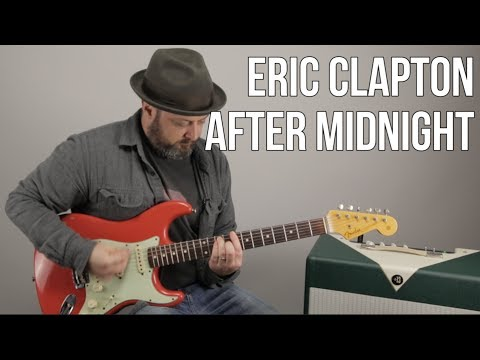 Eric Clapton After Midnight Guitar Lesson  JJ Cale