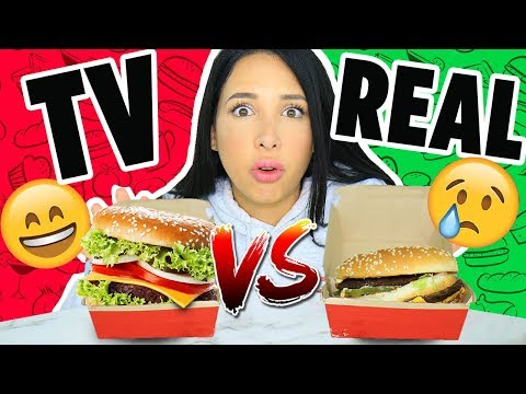 I TESTED FOOD HACKS USED IN TV COMMERCIALS !!! 🍔| Mar