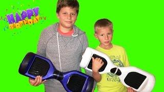 Мини Сигвей подарок ко дню рожденья // Oppening Birthday Present Smart Balance Scooter Hoverboard(, 2015-12-28T05:33:30.000Z)