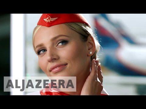 Flight attendants sue Aeroflot for beauty discrimination