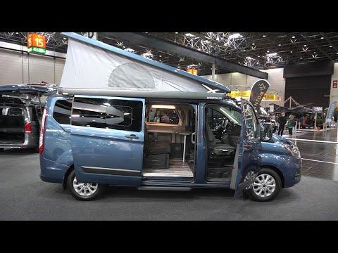 Viel Platz: Ford Nugget 2021 Plus mit Aufstelldach Kastenwagen Wohnmobil Campingbus
