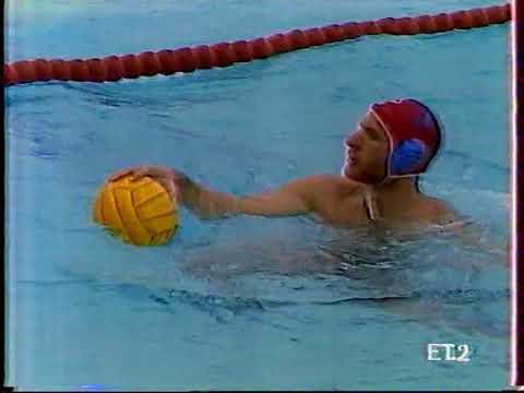 1990 Water Polo Greek A1 Champ. Vouliagmeni NC Vs Ethnicos P