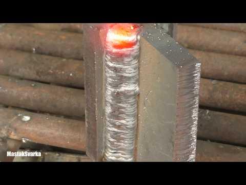 Самая быстрая технология сварки толстого металла вертикально